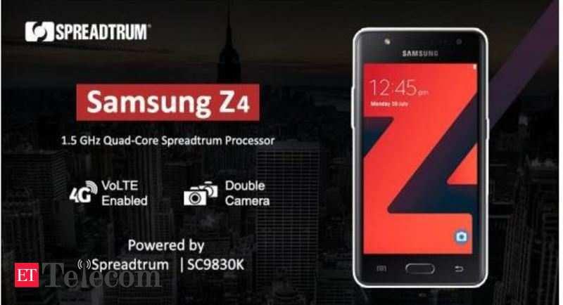 Spreadtrum: Spreadtrum powers Samsung Z4 Tizen LTE smartphone with