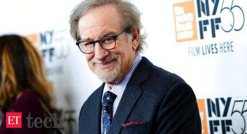 how does steven spielberg make the A little french, a little italian and a little spanish, was steven spielberg's directive to architect harry newman, who transformed the pacific palisades home.