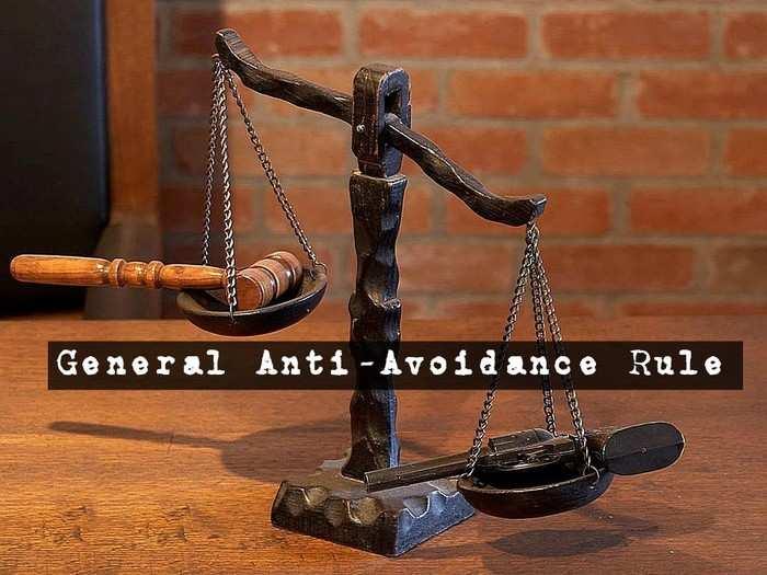 general anti avoidance rules