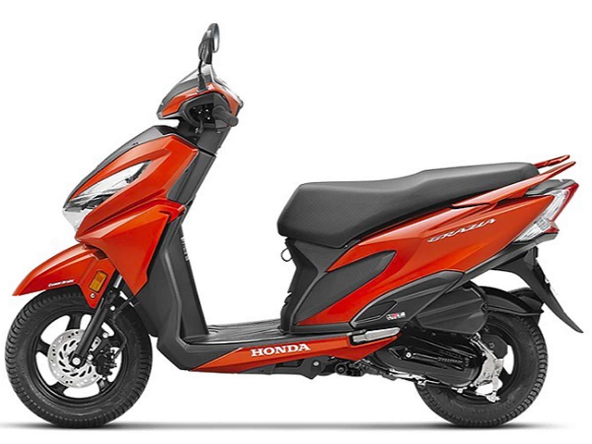graiza: Honda's latest scooter Grazia sets record in volume league