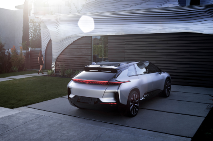 bmw: How Tesla, BMW and Faraday Future developed electric vehicles
