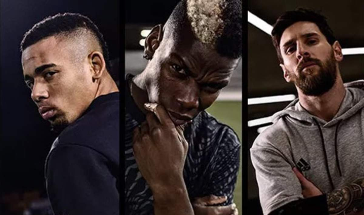 Adidas Makes World Collide By Pulling Leo Messi Pharrell Williams Karlie Kloss And More In Its New Campaign Marketing Advertising News Et Brandequity