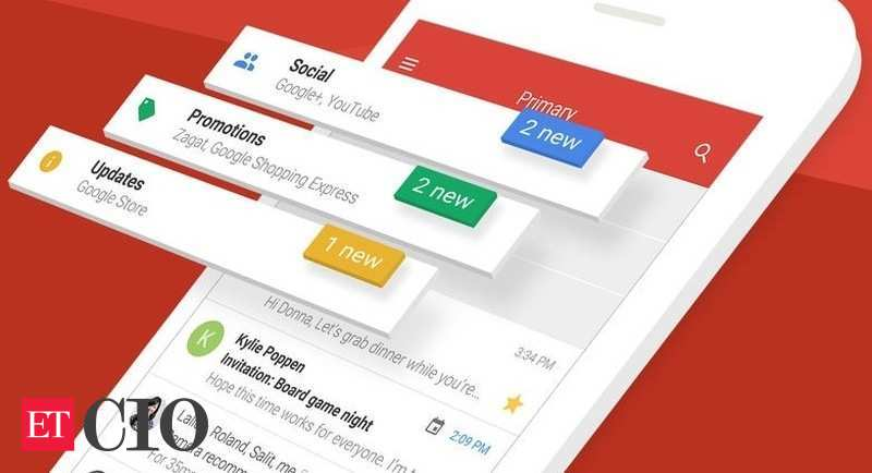 'Inbox' by Gmail app now updated for iPhone X cio.economictimes.indiatimes.com