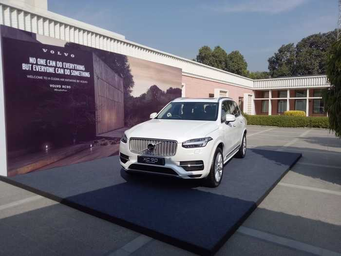 Volvo Cars Price List In India 2018