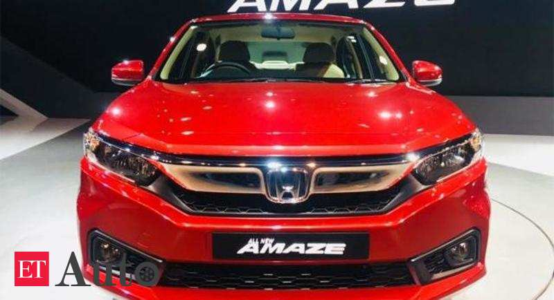 Honda Amaze Honda Cars India Beats Tata Motors As Fourth Largest Pv
