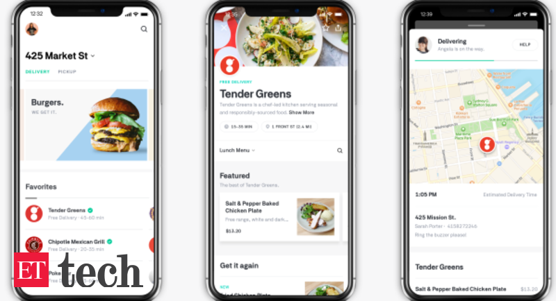 Food delivery startup ipo