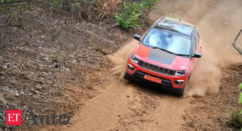 FCA: FCA India opens bookings for Jeep Compass Trailhawk