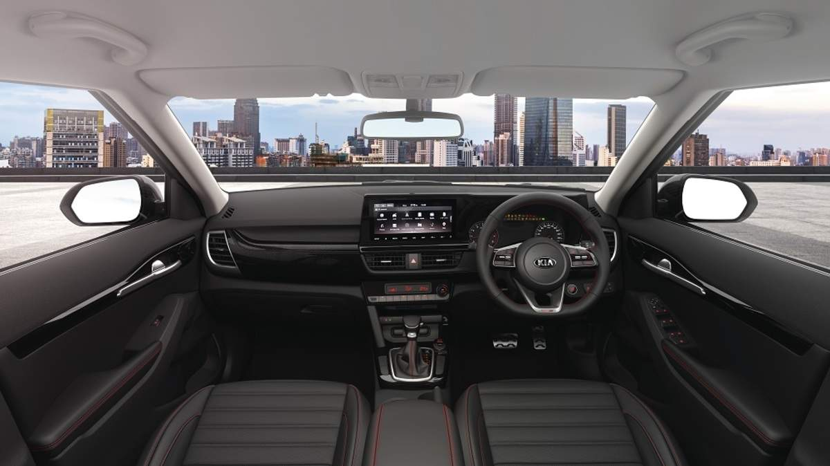 A Quick Glance At Kia Seltos Interior 360 Degree View Camera Et Auto