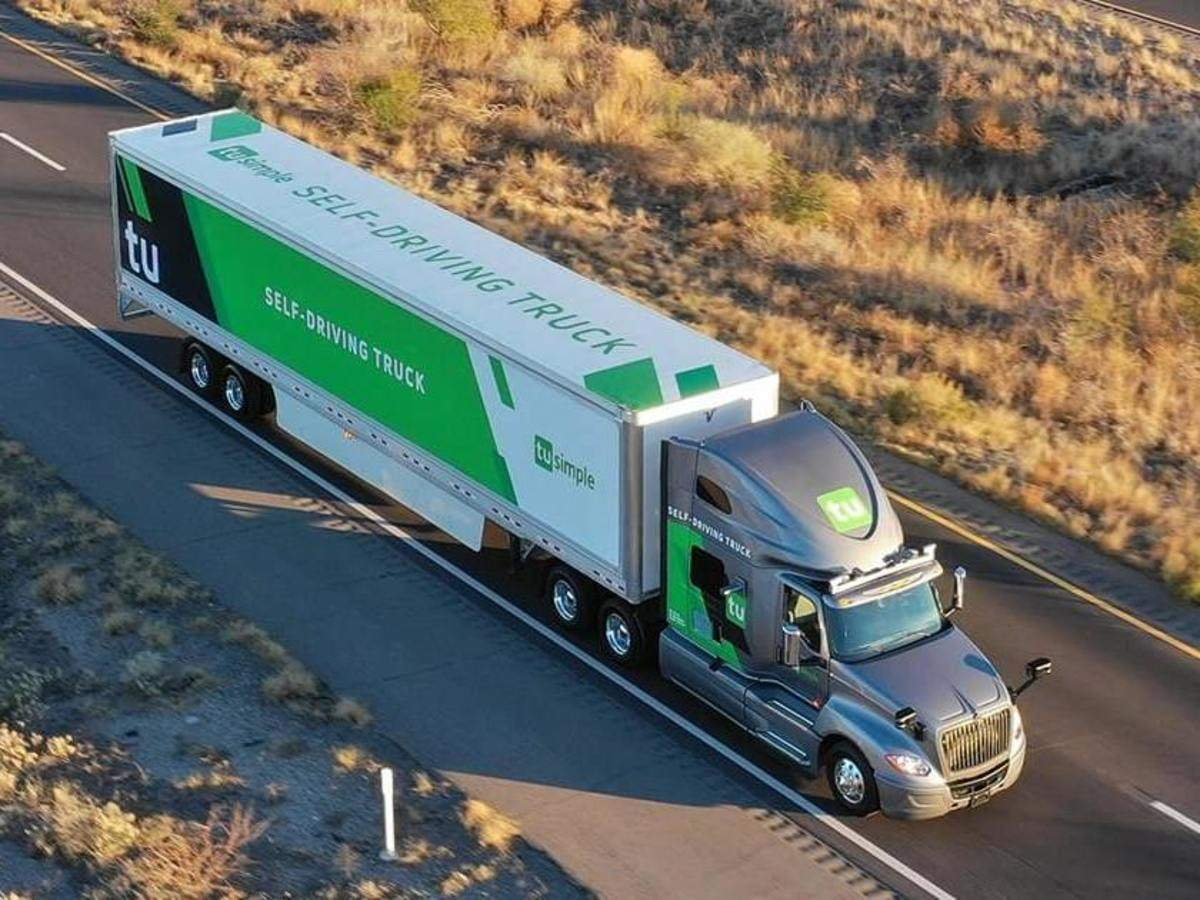 Image result for Self-driving truck startup TuSimple raises additional $120 million