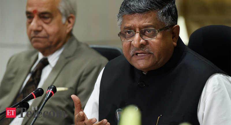 Telecom sector records Rs 41,000 crore dip in gross revenue over 3 years: Ravi Shankar Prasad - ETTelecom.com thumbnail