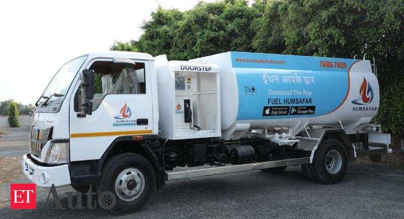 Doorstep Fuel Delivery Delhi Based Startup Launches Doorstep Fuel Delivery Service Auto News Et Auto