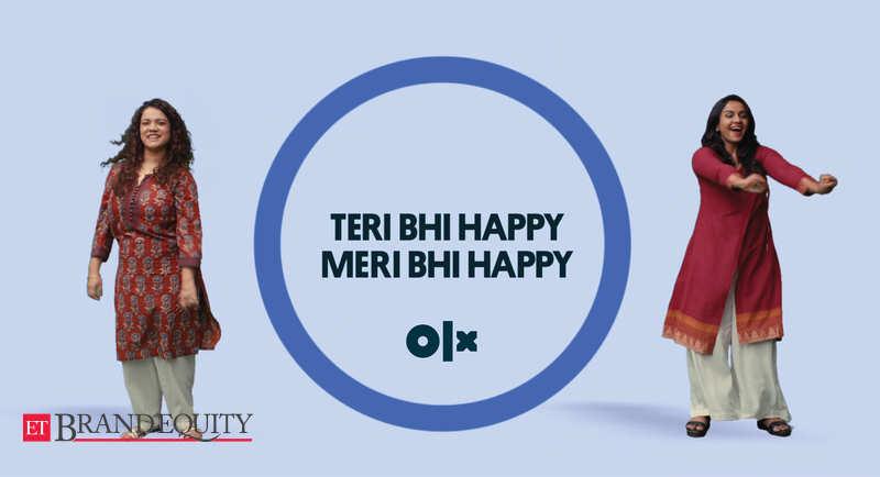 Marketing Targeting Tier Two Cities Olx Says Teri Bhi Happy Meri Bhi Happy In Its New Marketing Campaign Marketing Advertising News Et Brandequity