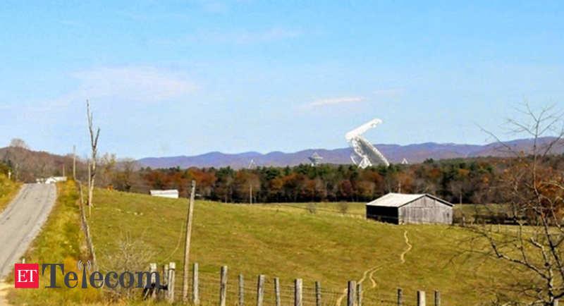 No cell signal, no Wi-Fi, no problem. Growing up inside America's 'quiet zone' - ET Telecom