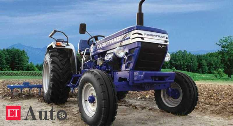 Escorts tractor sales dip 54.3% in March at 5,444 units, Auto News, ET Auto