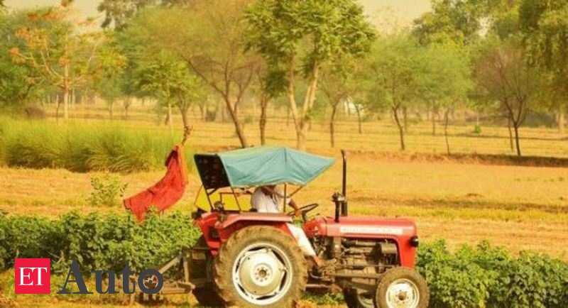 Expected good harvest seen boosting demand for tractors and harvesting machines, Auto News, ET Auto