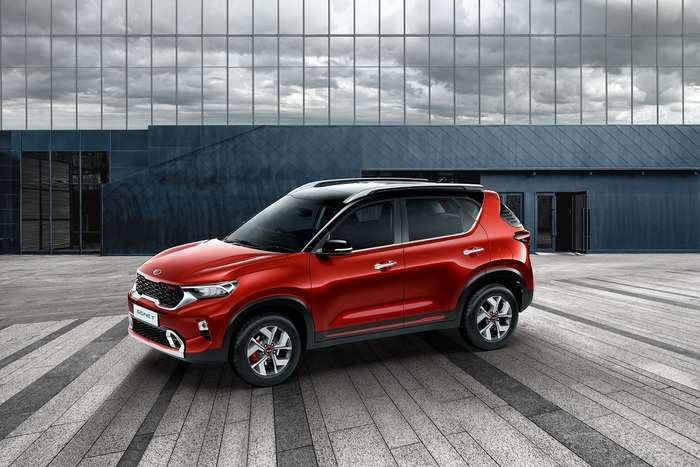 Kia Sonet Features Kia Motors Premieres Sonet Suv Offers 3 Engine Options Auto News Et Auto