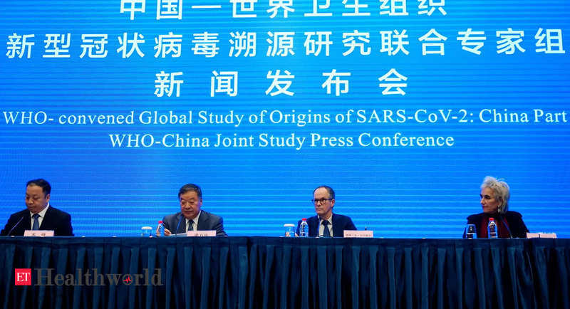 WHO mission to China fails to find animal source of coronavirus, Health News, ET HealthWorld