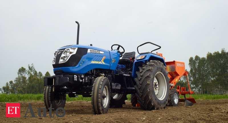 Sonalika tractor sales rise 22.5% at 11,821 units in Feb - ETAuto.com