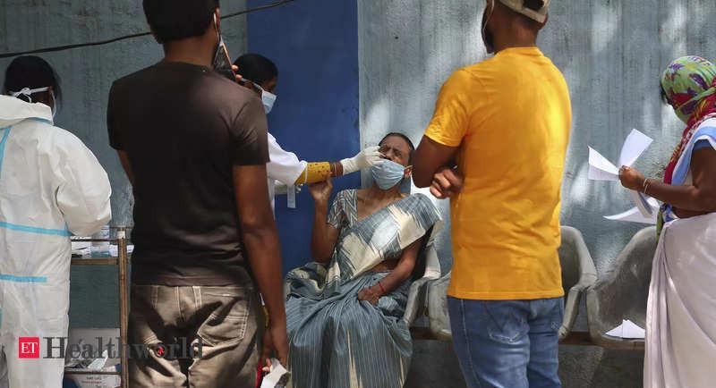 India's coronavirus cases see highest rise since December 13 – ET HealthWorld