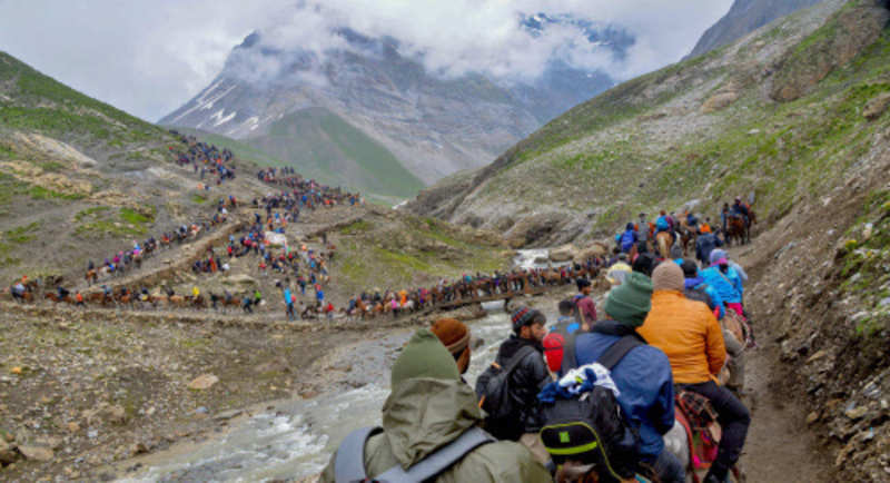 Online registration of Amarnath yatra to begin from April ...