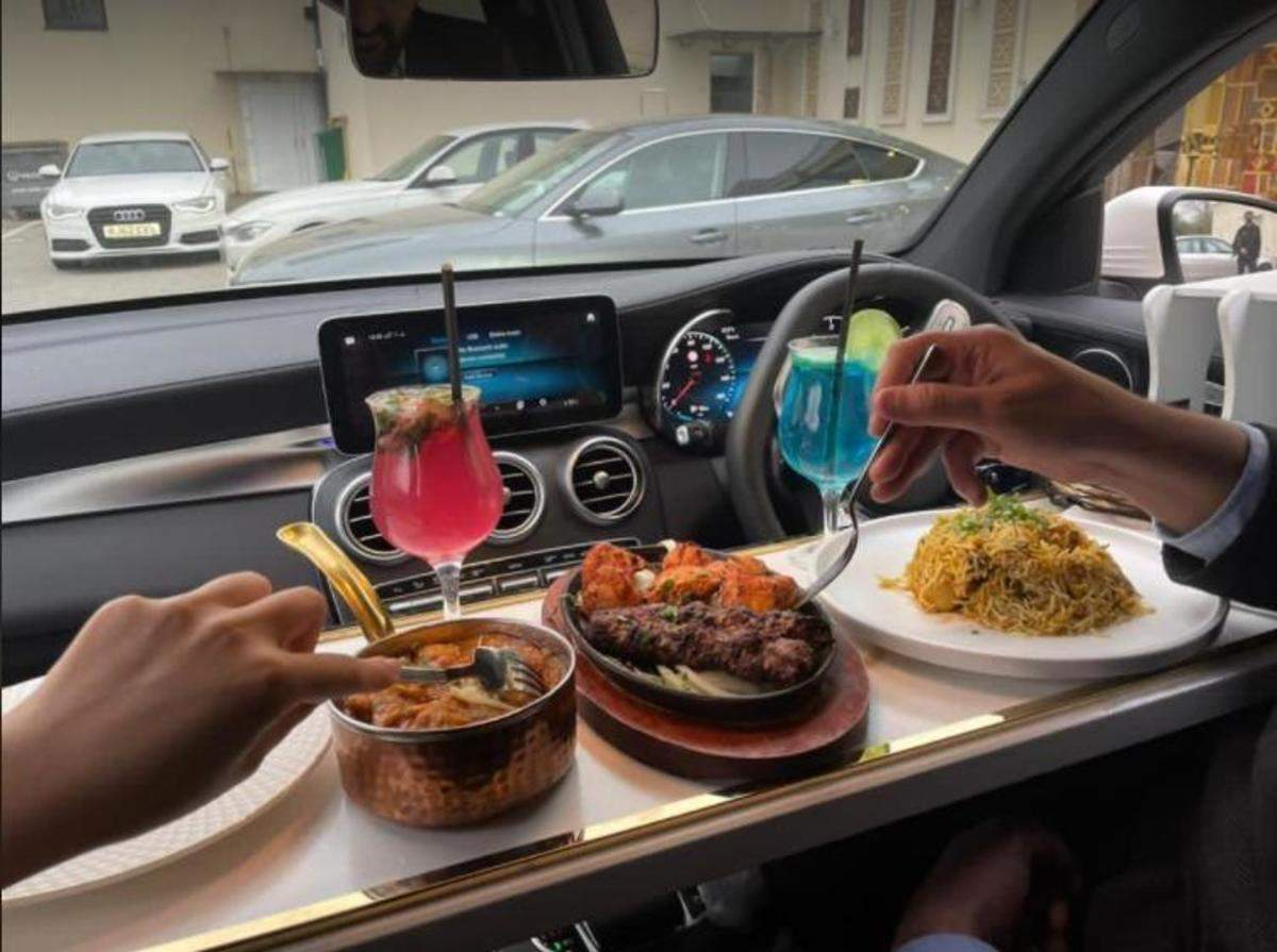 in car dining: KTDC rolls out 'in-car dining' to serve food in parked  vehicles, Auto News, ET Auto