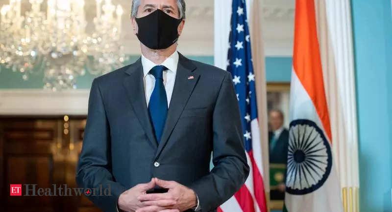 US announces USD 25 million aid to support India's COVID-19 vaccination process – ET HealthWorld