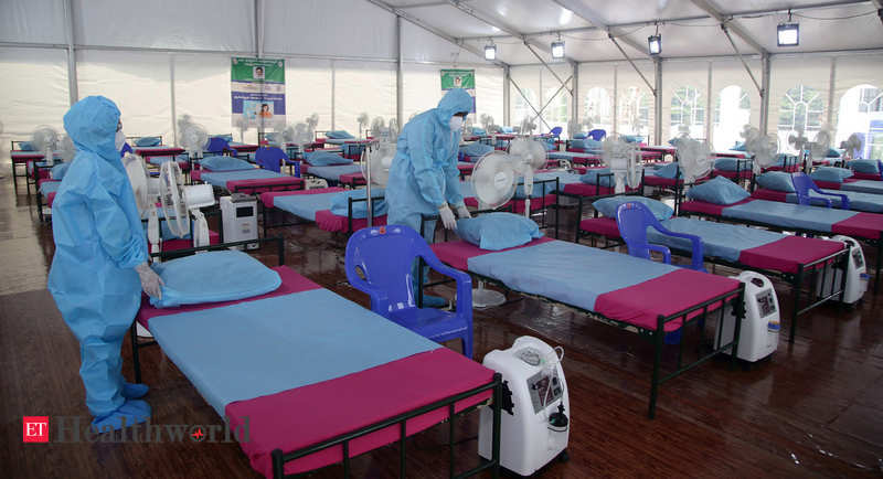 Centre on how many oxygen beds are available to tackle Covid crisis – ET HealthWorld
