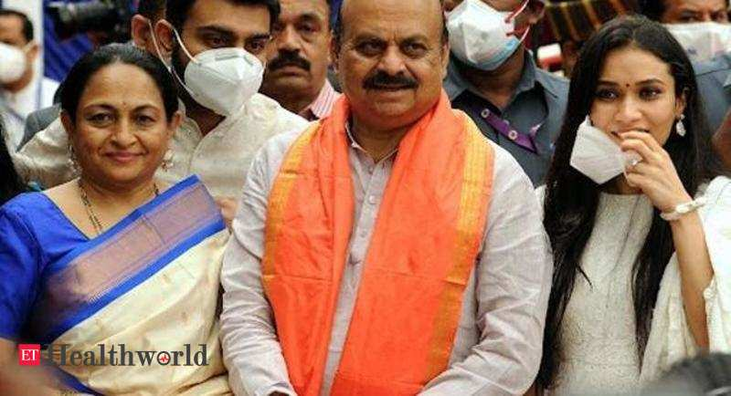 Centre to provide 1 crore Covid-19 vaccine doses to Karnataka for August: CM Bommai – ET HealthWorld