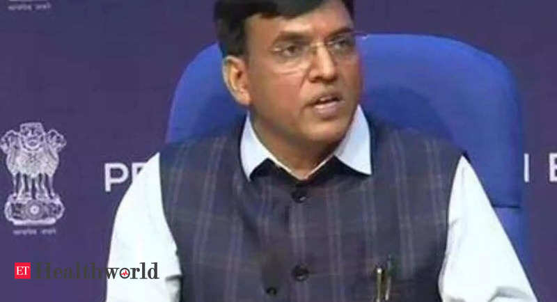 Union Health Minister reviews availability of COVID-19 essential drugs, their buffer stocks – ET HealthWorld