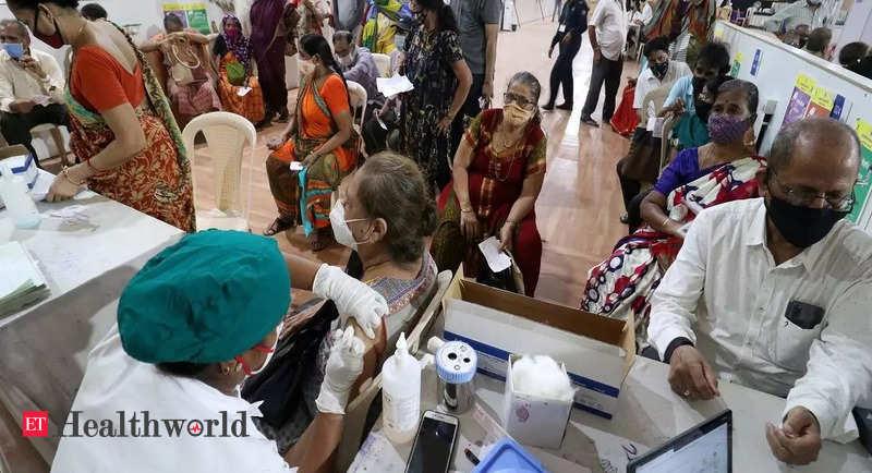 India administers 10 crore doses in 13 days to reach landmark of 70 crore doses – ET HealthWorld