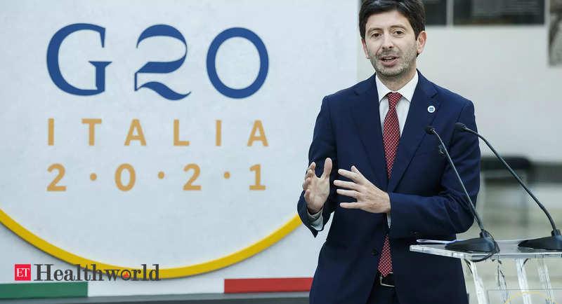 G20 health ministers agree on vaccine confidence measures, Health News, ET HealthWorld