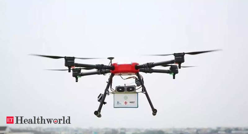 Telangana's Medicine from the Sky project drones trial to start from Sept 20, Health News, ET HealthWorld