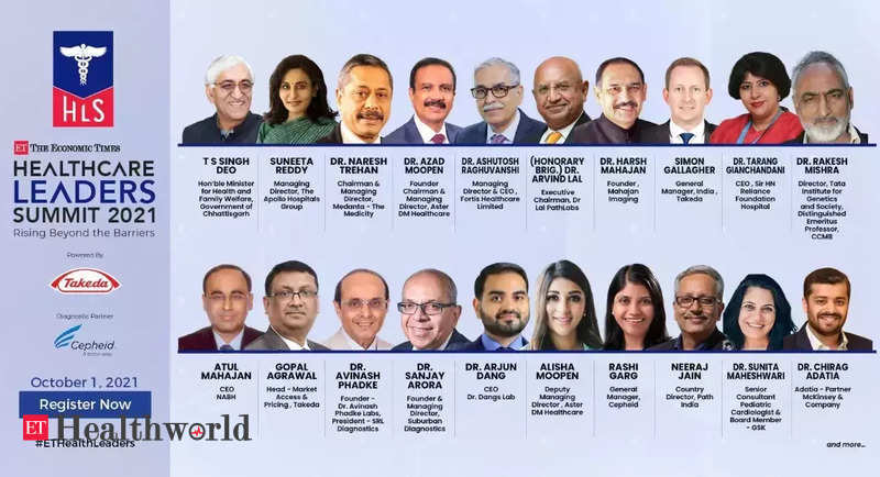 Experts to deliberate on strengthening healthcare system post-pandemic at ET Healthcare Leaders' Summit, Health News, ET HealthWorld