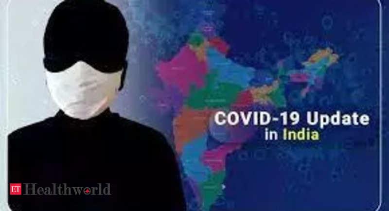 India reports 15,823 new COVID-19 cases – ET HealthWorld