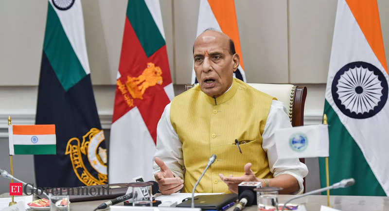 Aim to bring India among top countries in Defence sector, says Defence Minister Rajnath Singh – ET Government