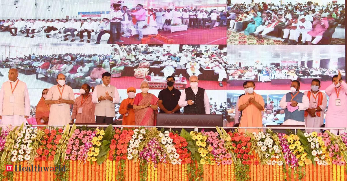 PM launches Rs 64,000 cr Ayushman Bharat Health Infrastructure Mission in UP – ET HealthWorld